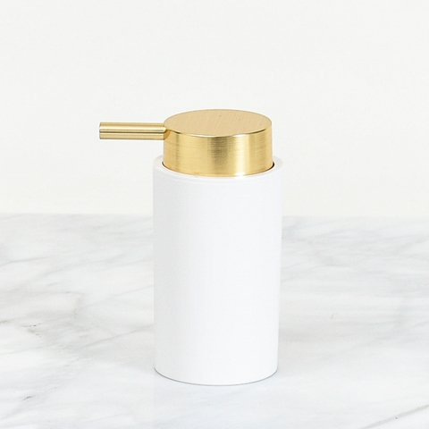 Dispenser jabón liquido DIS0204 Oro & White