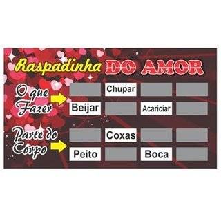 Raspadinha do Amor - Miss Collection