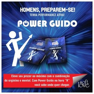 POWER GUIDO GEL UMIDIFICANTE - SOFT LOVE