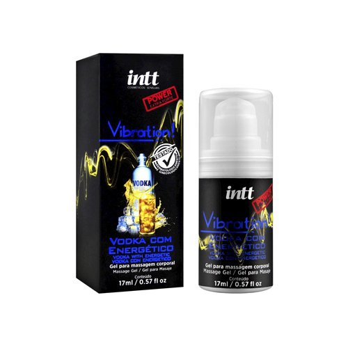 VIBRATION GEL EXCITANTE EXTRA FORTE VODKA C/ ENERGÉTICO -  17ML INT