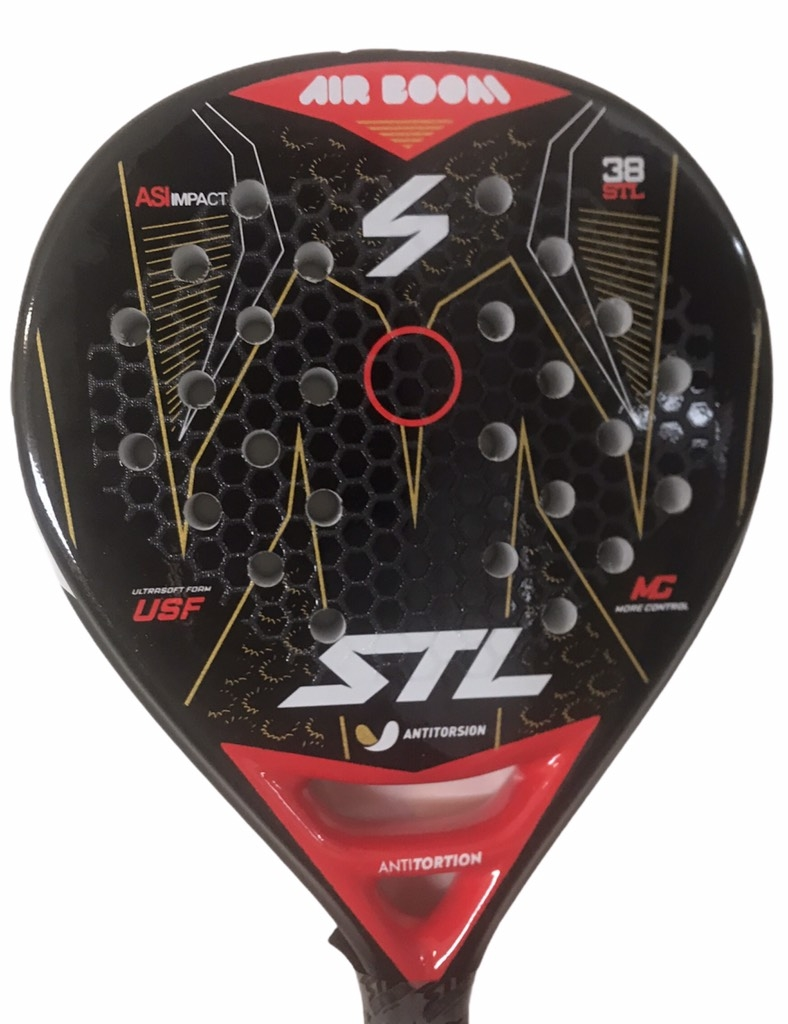Paleta Padel Paddle Steel Custom Air Boom + Regalos!