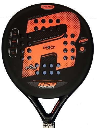Paleta Paddle Padel Royal Pole R 28 Eva + Grip + Protector