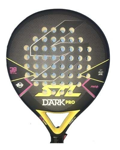 Paleta Padel Paddle Steel Custom Dark Pro + Grip + Protector