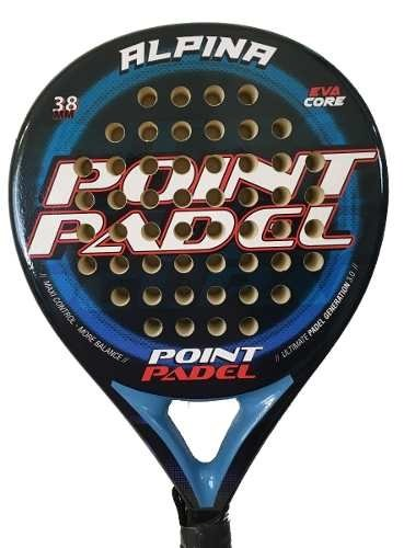 Paleta Point Padel Paddle Alpina + Grip + Protector
