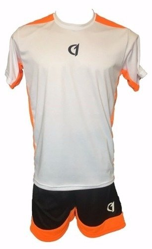 Conjunto Remera Short Class One Dry Fit Tenis Padel Bla - Na