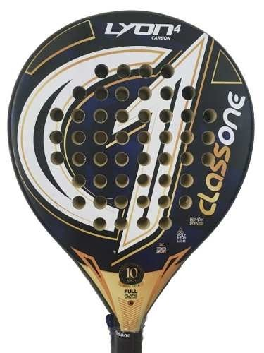 Paletas Padel Paddle Class One Lyon 4.0 + Grip + Protector