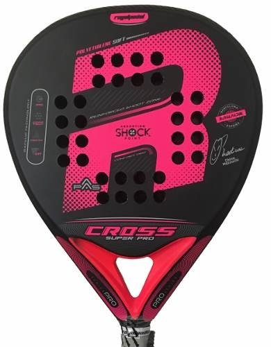 Paleta Padel Royal Cross Pro Woman + Funda + Grip + Prot
