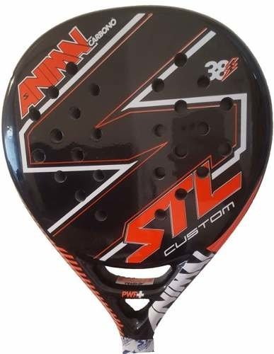 Paletas Padel Paddle Steel Custom Animal Carbono + Funda