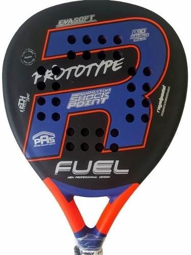 Paletas Padel Royal Fuel Prototype + Grip + Protector