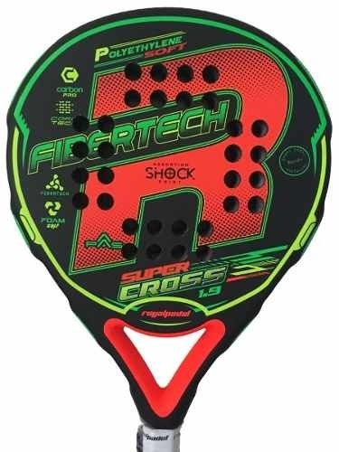 Paleta Padel Royal Super Cross + Bolsa + Grip + Protector