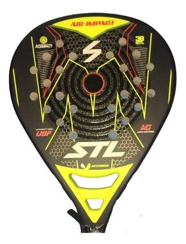 Paleta Padel Steel Custom Air Impact Pro Foam + Regalos!