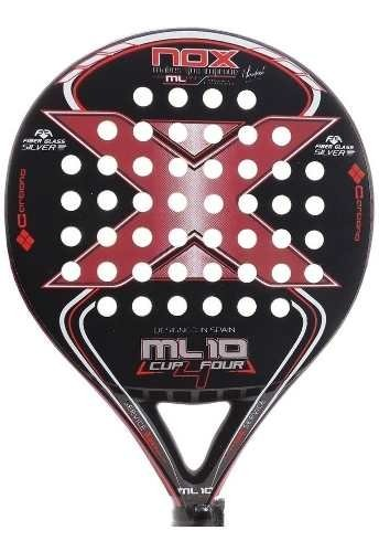 Paleta Paddle Padel Nox Ml 10  + Regalos!