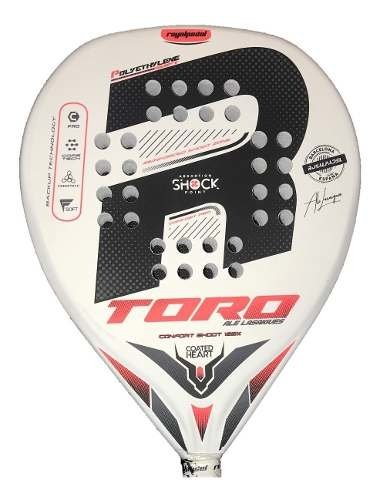 Paleta Paddle Royal Padel Toro Blanca + Regalos!