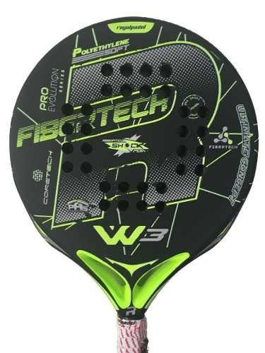 Paleta Padel Royal Whip 3 Foam Negra + Funda + Grip + Prot