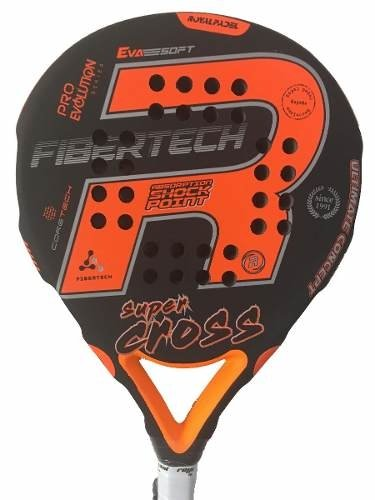 Paleta Royal Padel Sup Cross Eva Negra + Grip + Protector