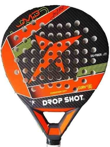 Paleta Padel Drop Shot Conqueror Soft + Funda + Grip + Prot