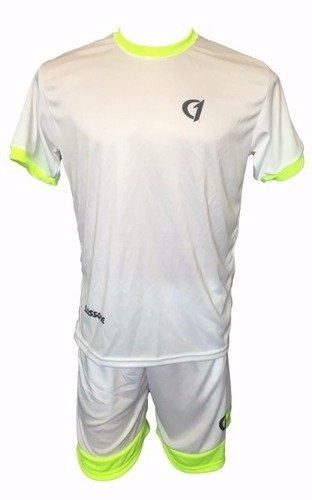 Conjunto Remera Short Class One Dry Fit Tenis Padel Bla - Am