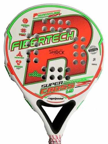 Paleta Paddle Padel Royal Super Cross + Funda + Grip + Prot