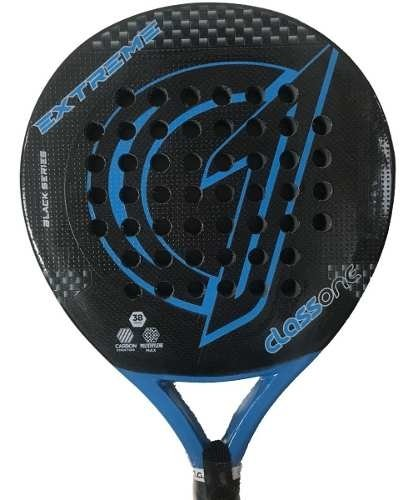 Paleta Padel Class One Full Carbon  + Grip + Protector