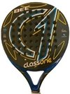 Paletas Padel Class One Bee Carbono + Grip + Prot