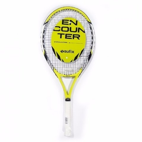 Raqueta Tenis Sufix Encounter Encordada Con Funda Cierre Pro