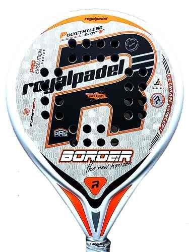 Paleta Paddle Padel Royal Border + Funda + Grip + Protector