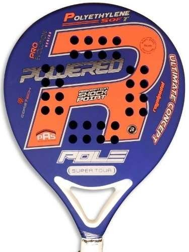 Paleta Paddle Padel Royal Pole 38 Mm Eva + Funda + Grip