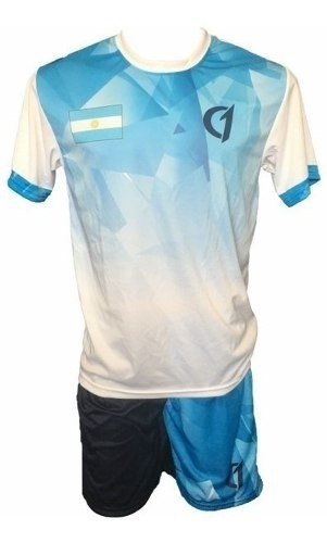 Conjunto Remera Short Dry Fit Tenis Paddle Class One Argentina
