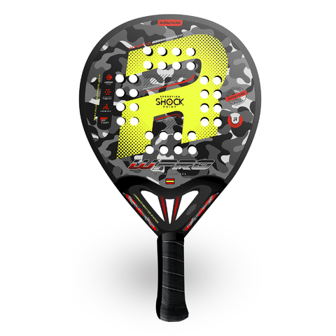 Paleta Padel Paddle Royal W-pro Barcelona Hybrid + Grip + Protector (copia)