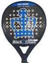 Paleta Padel Paddle Black Crown Piton 7.0