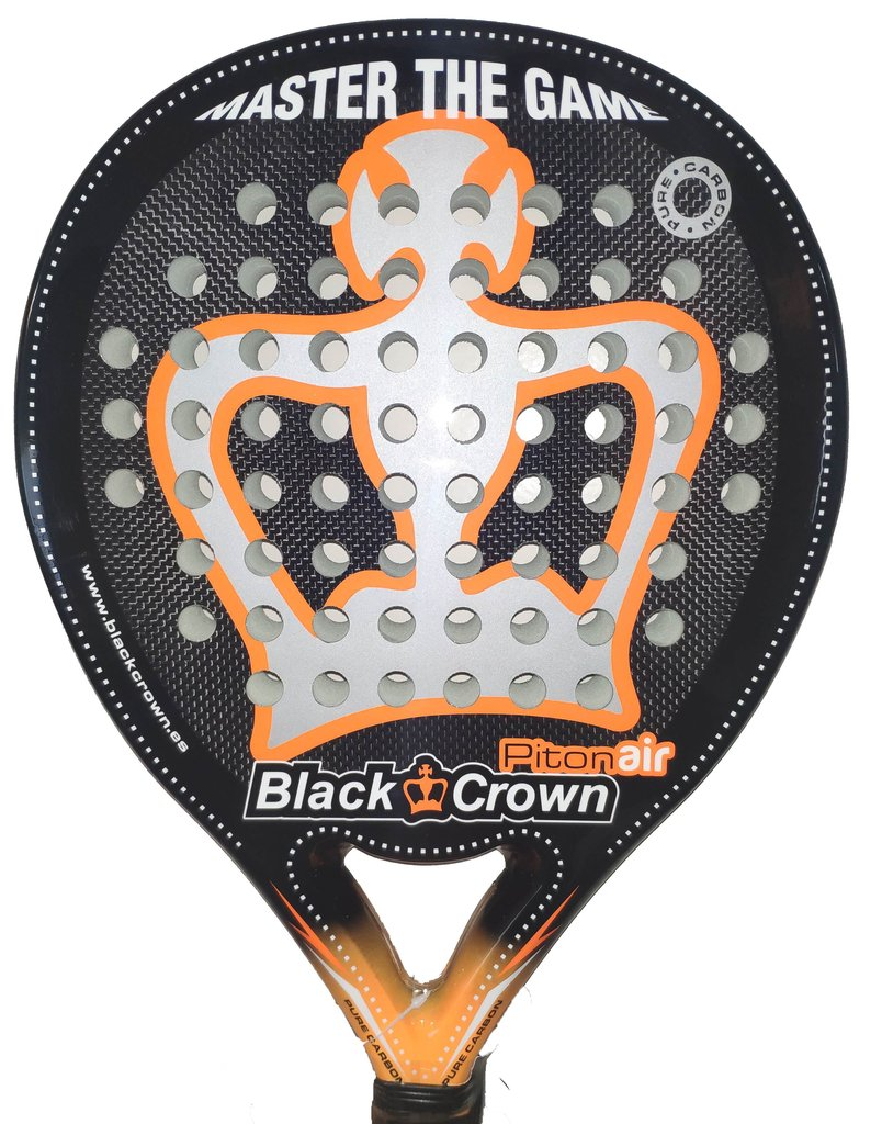 Paleta Padel Paddle Black Crown Piton Air