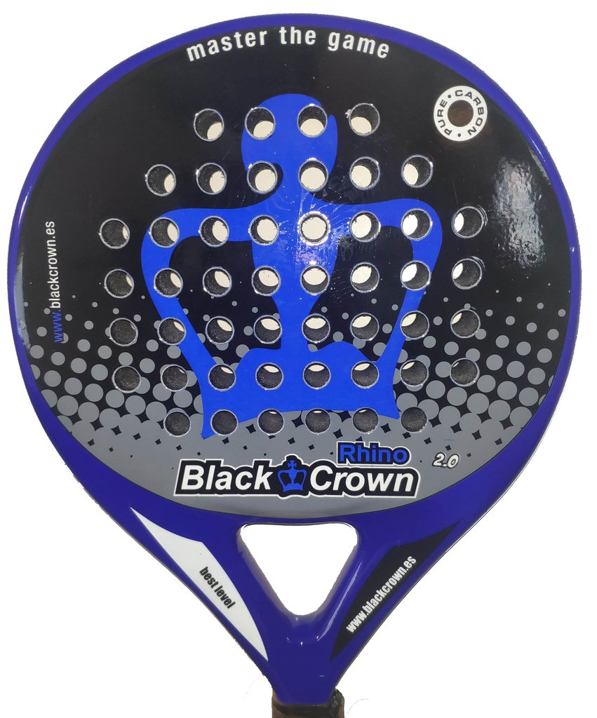 Paleta Padel Paddle Black Crown Rhino 2.0