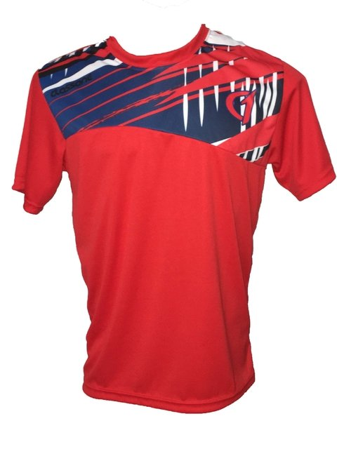Remera Class One Dry Fit sublimada tenis padel futbol