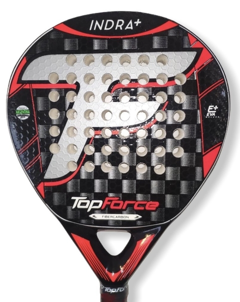 Paleta Padel Top Force Indra Rugosa Carbon