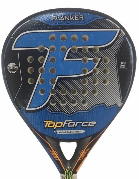 Paleta Padel Top Force Flanker Abrassive Carbon