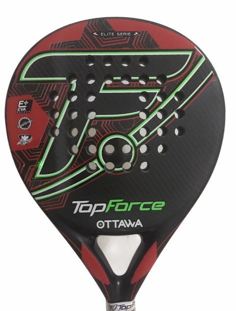 Paleta Padel Top Force Ottawa Elite Carbono