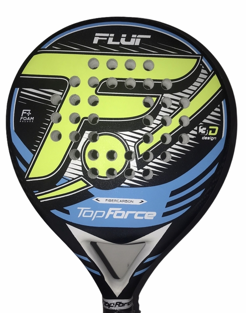 Paleta Padel Top Force Flur Carbono + Regalos