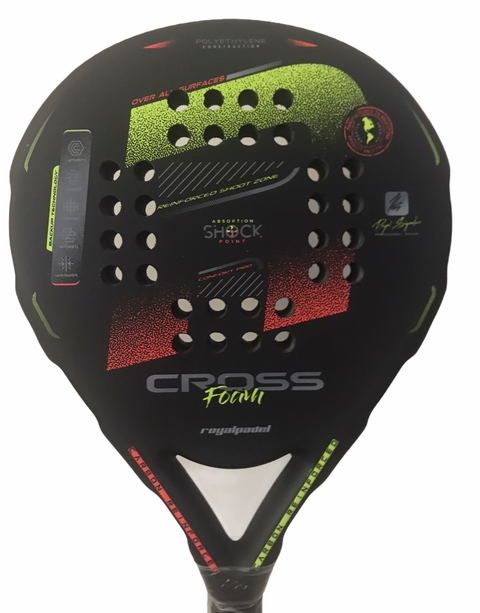 Paleta Royal Padel Super Cross 1.9 + Regalos