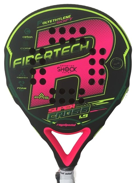 Paleta Padel Royal Sup Cross Woman + Grip + Protector