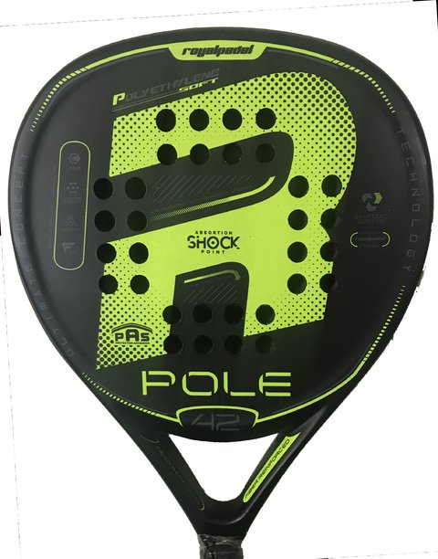 Paleta Paddle Royal Padel Pole 42 + Funda + Grip + Protector