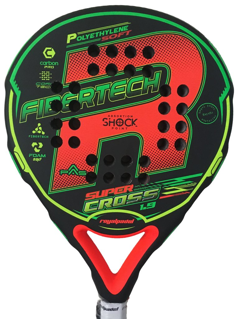 Paleta Padel Royal Super Cross  + Grip + Prot