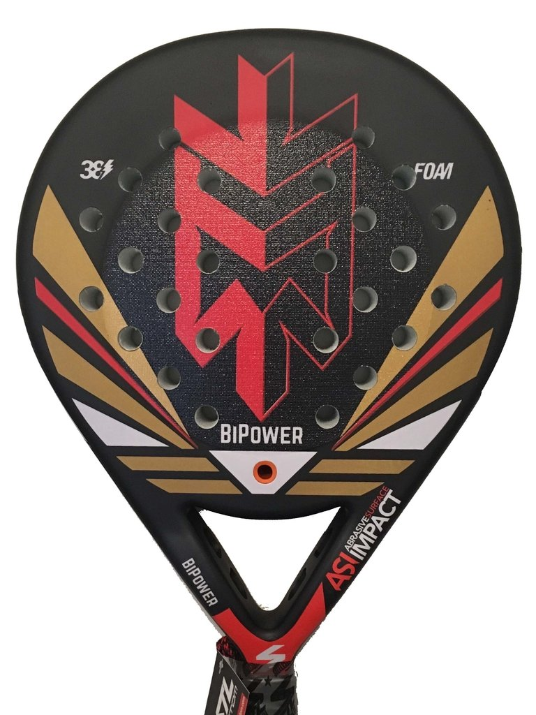 Paletas Padel Steel Custom Bi Power Con Funda
