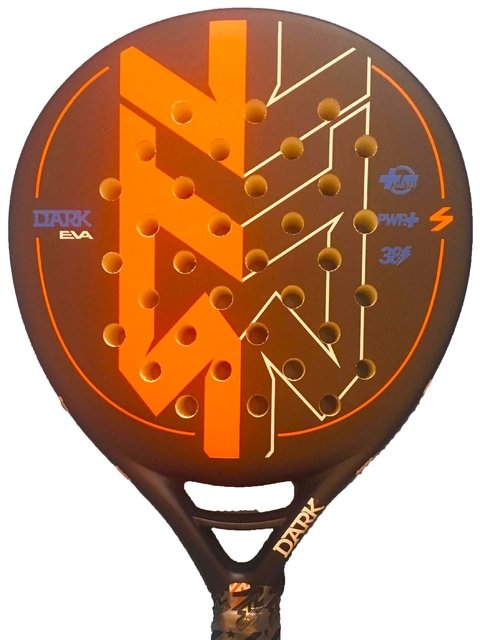Paleta Padel Steel Custom Dark 2 Eva + Grip + Prot