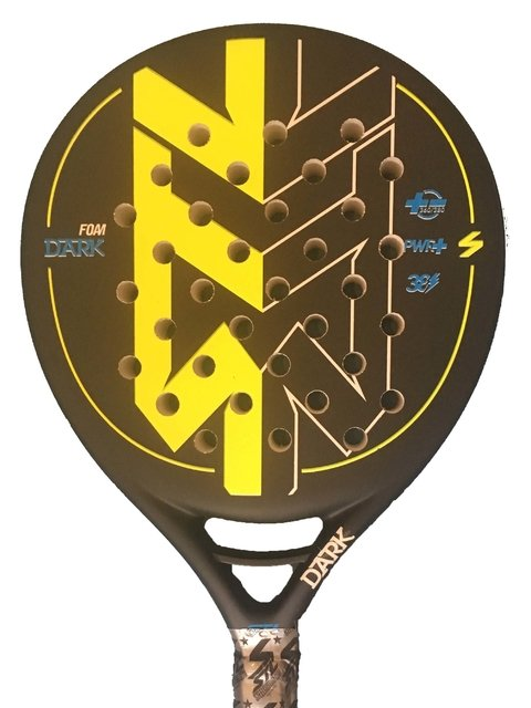 Paleta Padel Steel Custom Dark 2 Foam + Grip + Prot