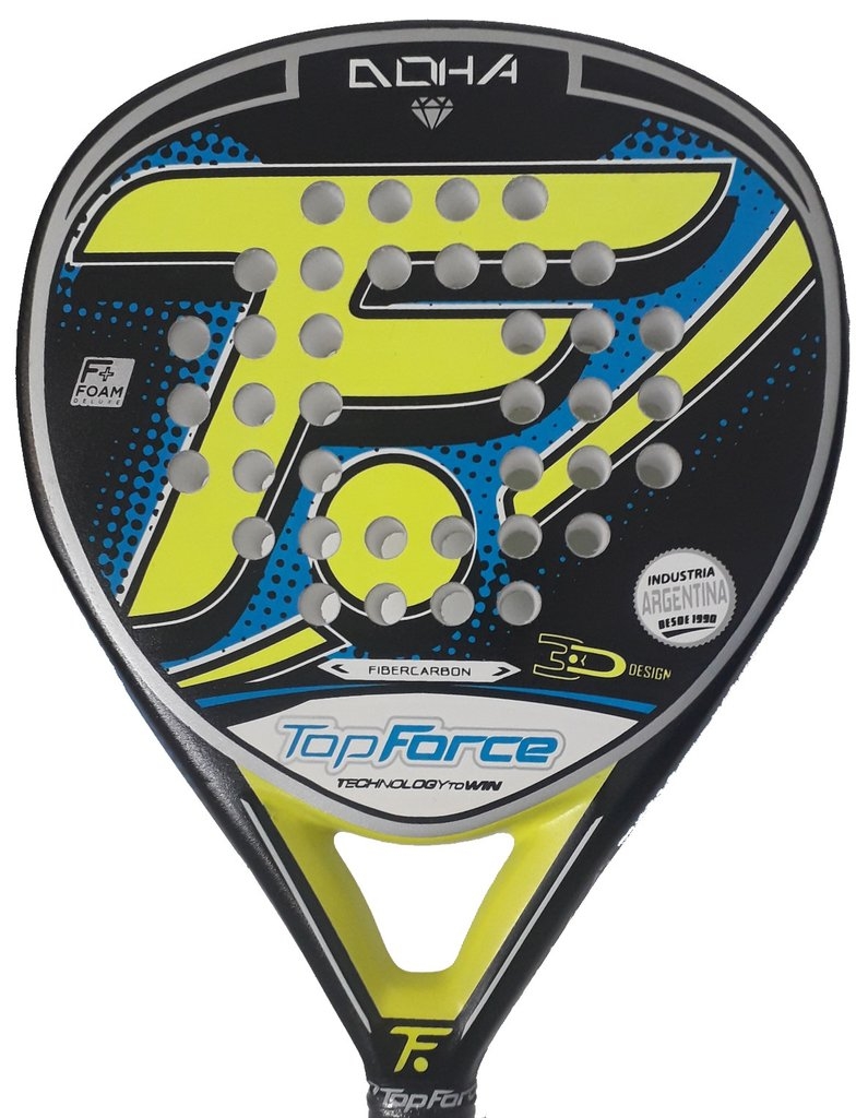 Paleta Padel Top Force Doha Carbono