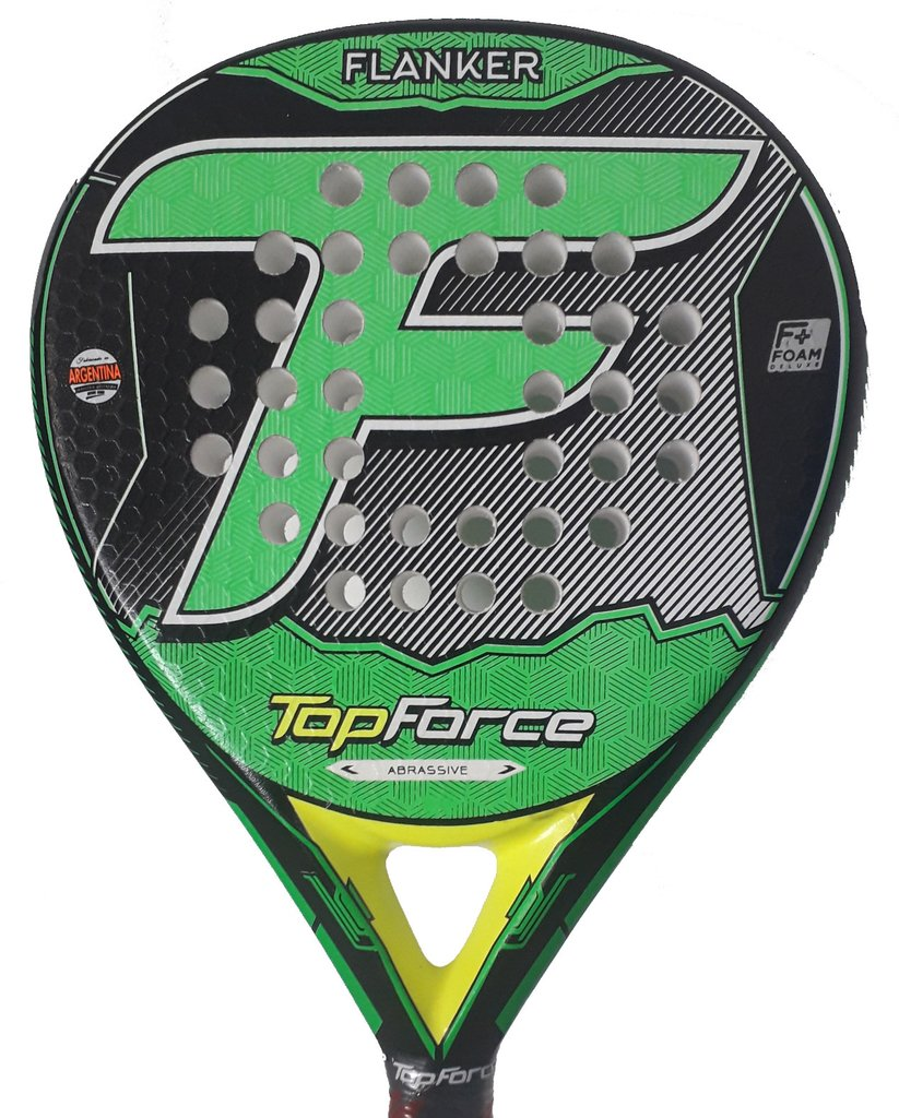 Paleta Padel Top Force Flanker Eva Y Foam