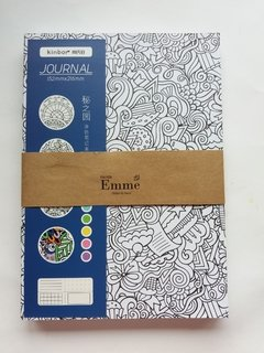 SET CUADERNOS JOURNALING X 4