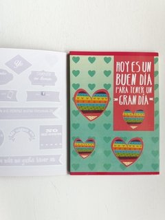 CUADERNO MIS NOTAS LOVE IN THE AIR en internet