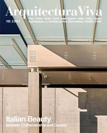 Arquitectura Viva 160 Belleza Italiana Between Craftsmanship