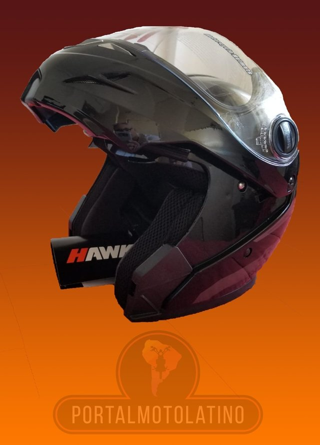 Imagen de Casco Hawk RS5 Vector - Rebatible con doble visor